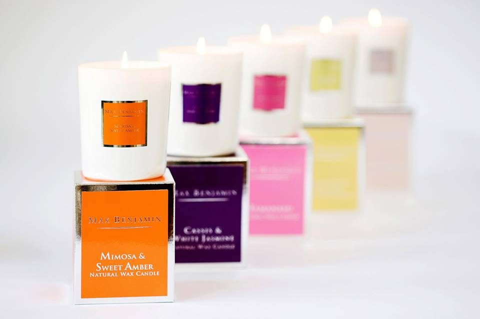 Max Benjamin Classic Scented Candles
