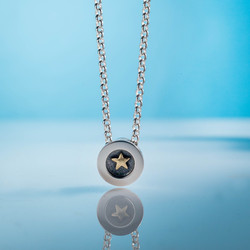 Alan Ardiff Gold Star Pendant.