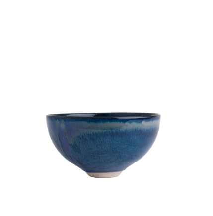 Louis Mulcahy Salad Bowl Navy
